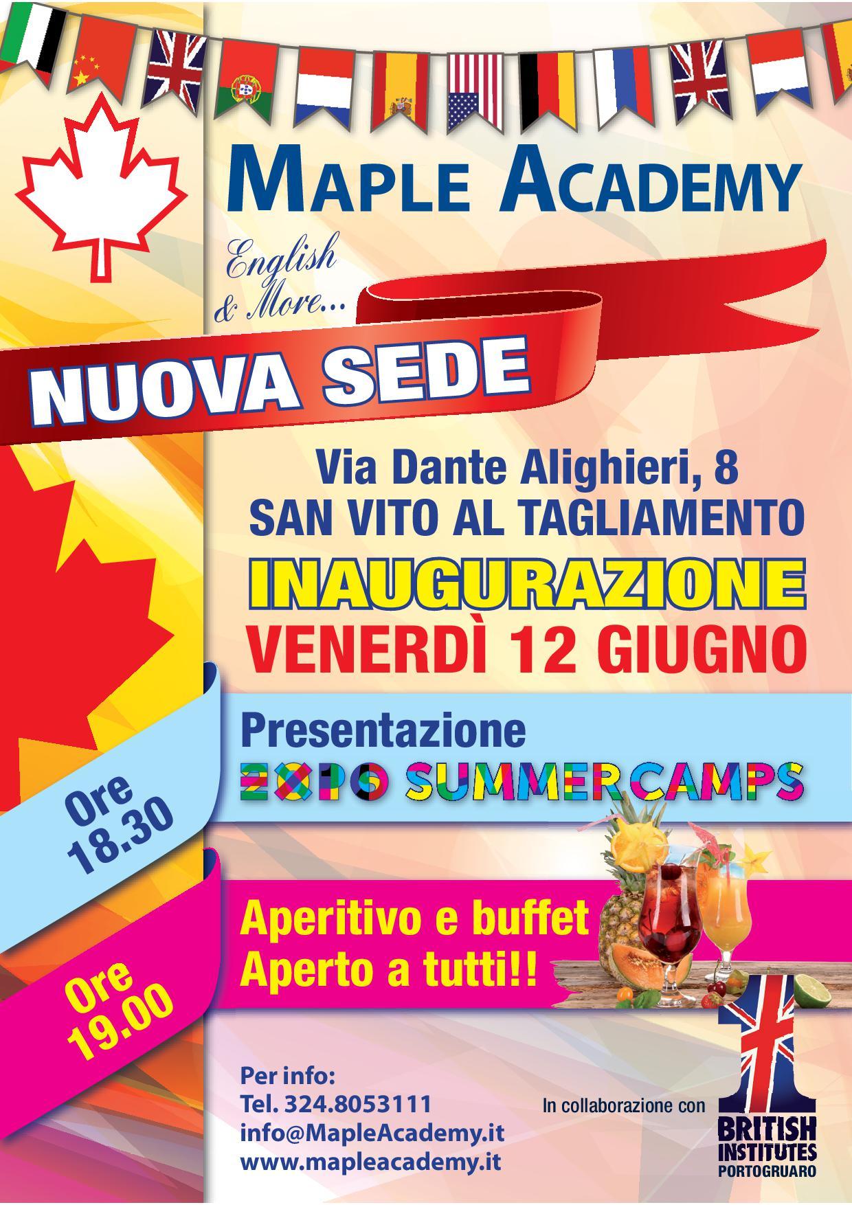 Inaugurazione Nuova Sede Maple Academy